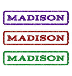 Madison watermark stamp vector