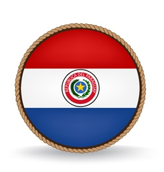 Paraguay seal vector