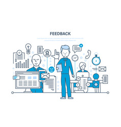 technology communications technical support vector image vector image