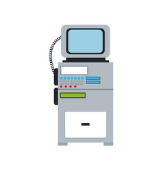Monitor cardiology clinic equipment support vector