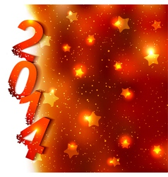 Sparkling new year background vector