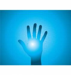 Binary hand vector