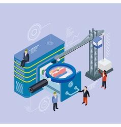 Database storage server vector