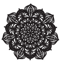 Abstract mandala design vector