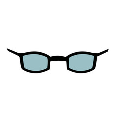glasses optical accessory fashion style image vector image
