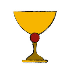 Sacred chalice symbol vector