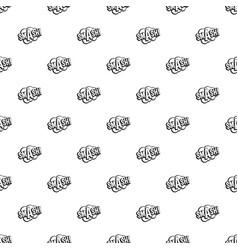 smash comic book bubble text pattern vector image