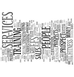 Elite fitness text background word cloud concept vector