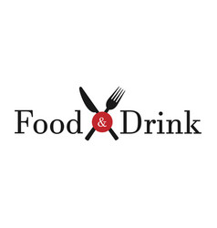 Food drink white background vector
