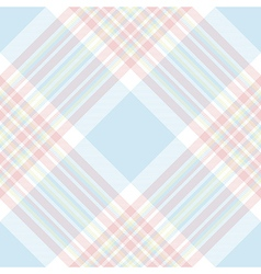 Pastel check diagonal fabric texture seamless vector