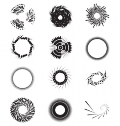 shapes vector image vector image