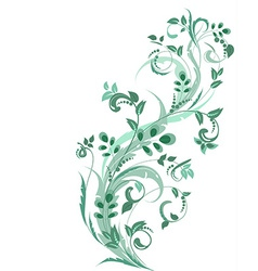 Floral ornament for your design vector