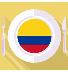 Kitchen of colombia vector