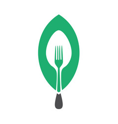 Vegan food concept design vector