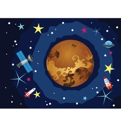 Venus in the space vector