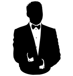 Business suit vector