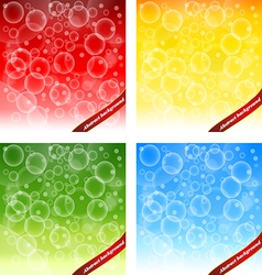 Abstract background design shape color lava lamp vector