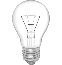 Bulb for daily use vector