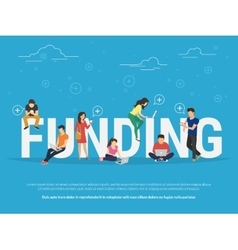 Funding concept vector