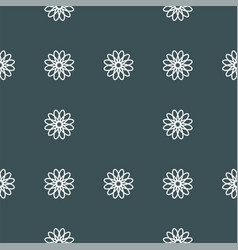 Seamless pattern with floral ornament vector