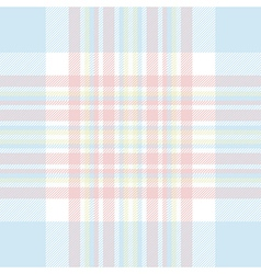 Pastel color check fabric texture seamless pattern vector
