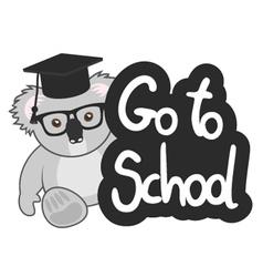 Go to school vector