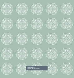 Abstract modern pattern background vector