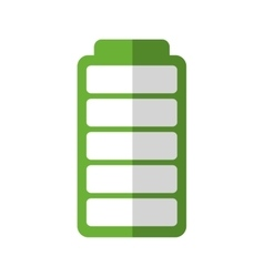 Battery energy ecology save icon graphic vector