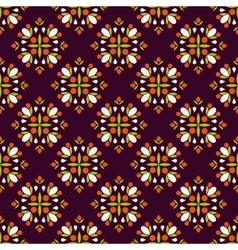 Geametric seamless pattern vector image vector image