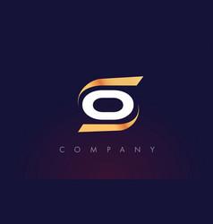 O letter logo design modern letter template vector