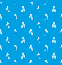 Tennis tower for judges pattern seamless blue vector