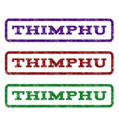 Thimphu watermark stamp vector