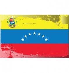 venezuela national flag vector image vector image