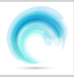 Abstract wave design vector