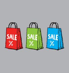 Creative sale poster vector