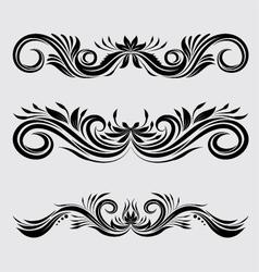 Decorative Ornamental vector image vector image