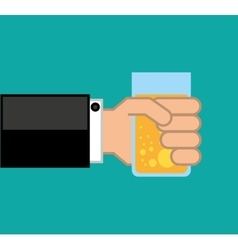 Drink menu beverage icon vector