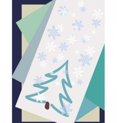 Winter cards vector