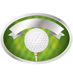 Golf emblem and banner vector