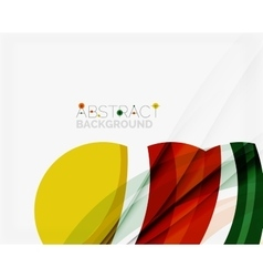 Green and yellow color elegant abstraction for vector