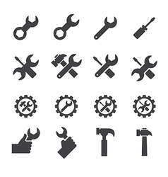 Tool and repair icon vector
