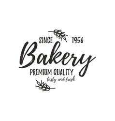 Set of bakery badges vector
