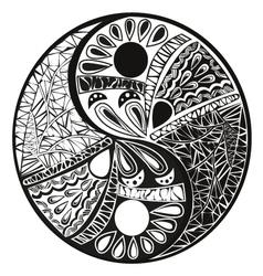 yun yan tattoo for design vector image vector image