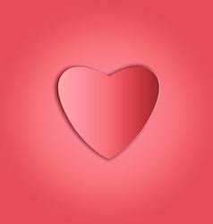 Heart paper copy vector