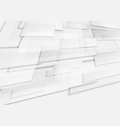 Abstract grey tech geometric motion background vector
