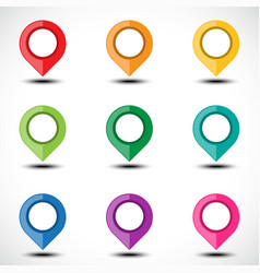 Color map pointer set vector