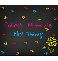 Collect moments vector