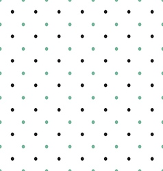 polka dot vintage vector image