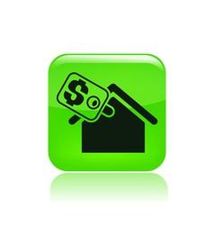real estate icon vector image