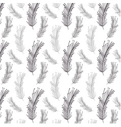 feather decoration background design image vector image vector image